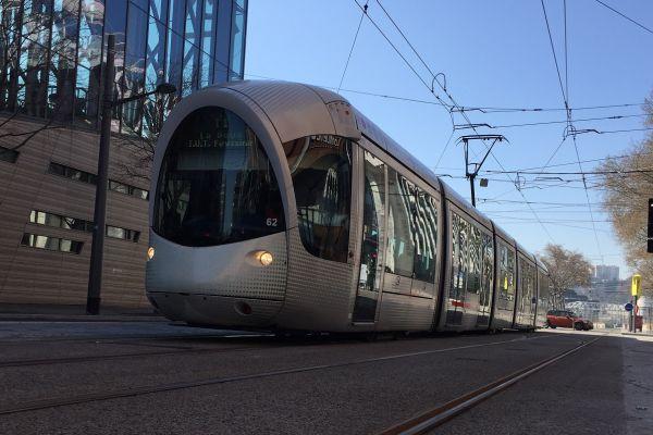 Extension tramway T2 Montrochet à Lyon