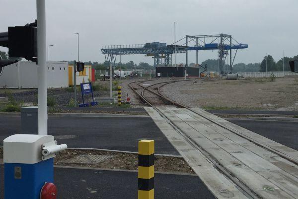 Terminal multimodal à Lauterbourg